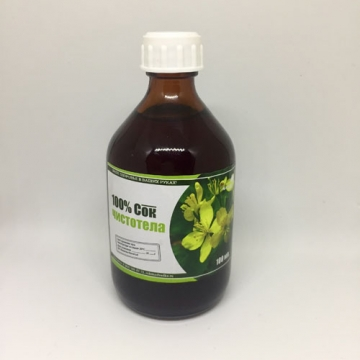 Сок чистотела 100% (100мл)